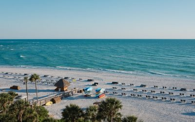 Vacances à la plage : Smathers Beach en Floride